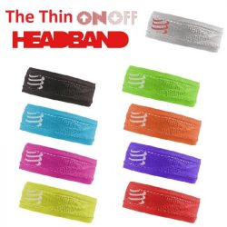 Compressport HeadBand - Fejpánt (keskeny)